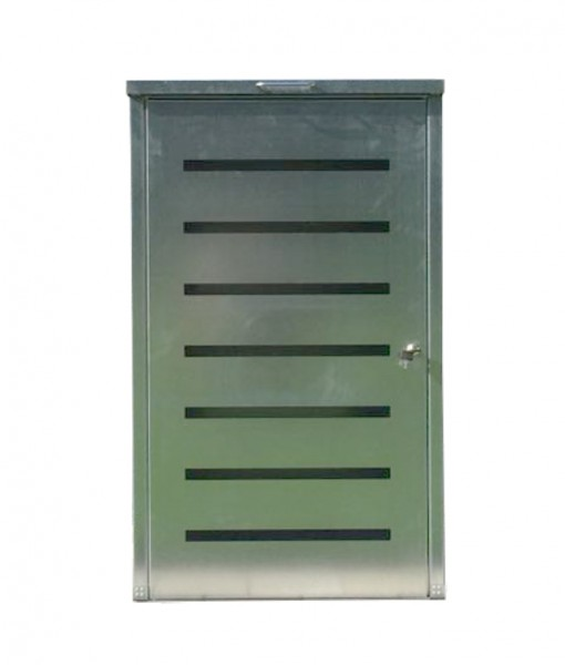 5x Easy Tailor Mülltonnenbox für 120 Liter Mülltonnen Komplett Verzinkt