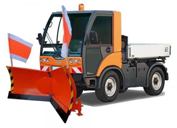 Vario Schneeschild Multicar-Aufnahme Breite 175cm Verstellung hydraulisch 7-Fach