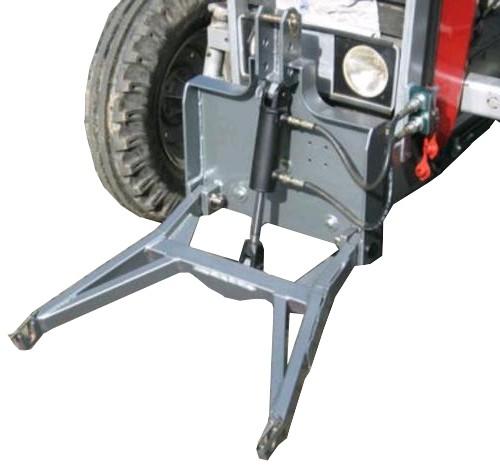 Fronthydraulik für Traktoren Trekker Schneeschieber Agrar Bagger Garten