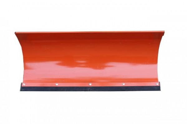 Universal Schneeschild Orange 100x40cm m. Rädern für Einachser Rasentraktor Quad