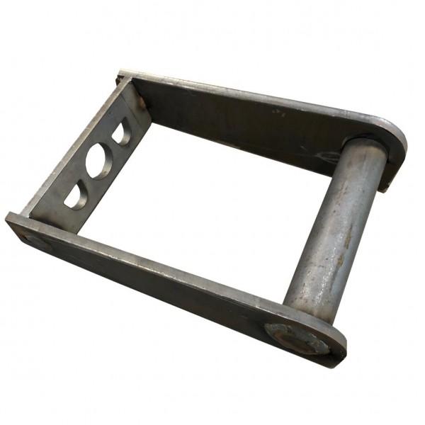 Rahmen MS03 Aufnahme zum anschweißen / Schnellwechsel Adapter SW03 Minibagger