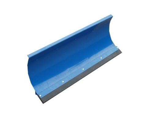Universal Schneeschild Räumschild Blau 175x40cm für Einachser Rasentraktor