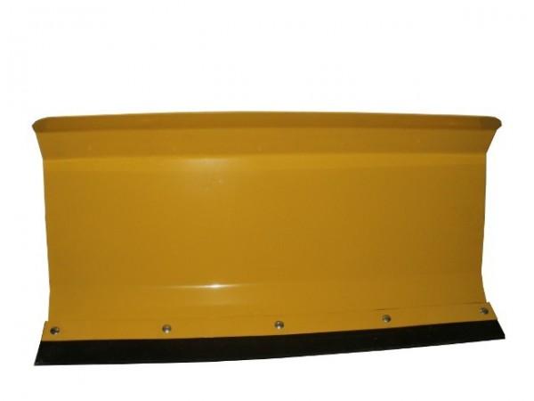 Universal Räumschild gelb 80x40 cm gekantet für Einachser oder Rasentraktor