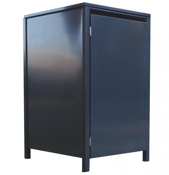 1 Tailor Mülltonnenbox Basic für 120 Liter Tonne o.Stanzung komplett Anthrazit