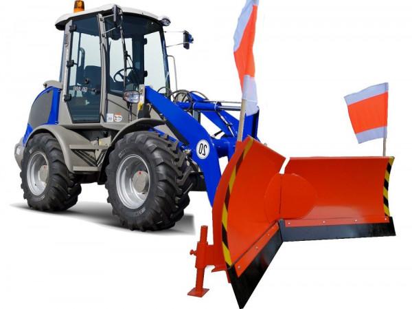 Vario Schneeschild Euro-Aufnahme Breite 125cm Verstellung hydraulisch 7-Fach