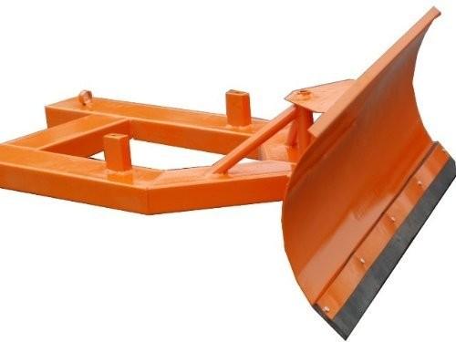 Universal Schneeschild Räumschild verstellbar 200 x 40cm für Gabelstapler