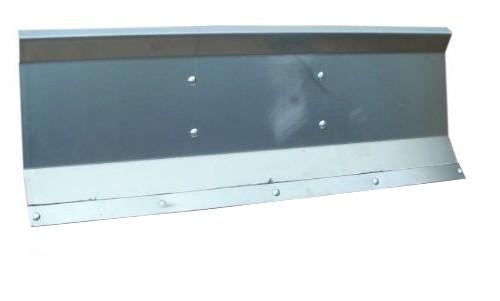 Selbstbauschild Schneeschild Räumschild als Bausatz gekantet 200x40 cm