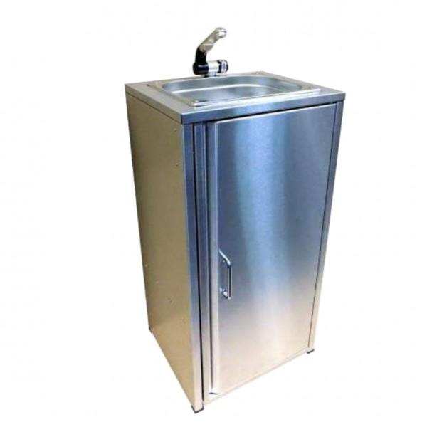 Mobiler Spülbecken Waschbecken Spüle Handwaschbecken Edelstahl inkl. Zubehör