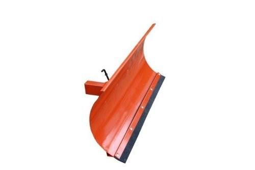 Universal Schneeschild Räumschild Orange 125x40cm für Einachser Rasentraktor