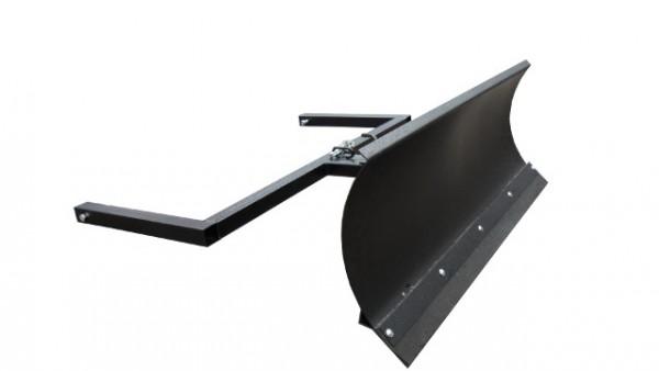 Schneeschild Schwarz 125x40cm für Aufsitzmäher gewalzt Stiga Villa Park