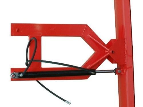 Schneeschild hydraulisch 150x40cm für Gabelstapler und Radlader m. Gabelaufnahme