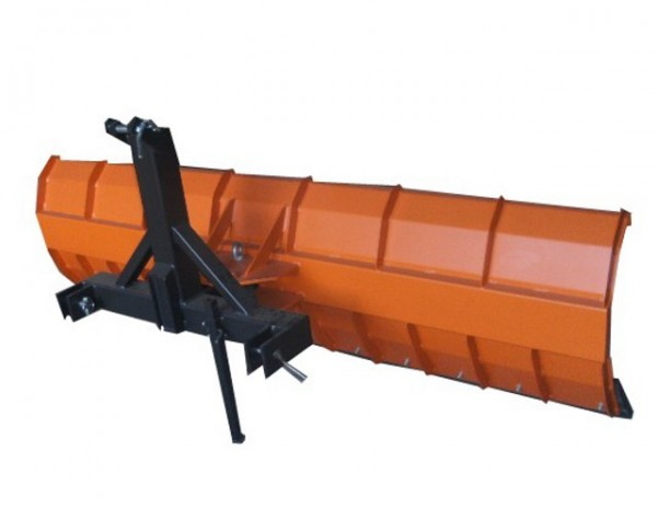 Schneeschild 225x57cm mechanisch schwenkbar für Traktor Bulldog Kat-2