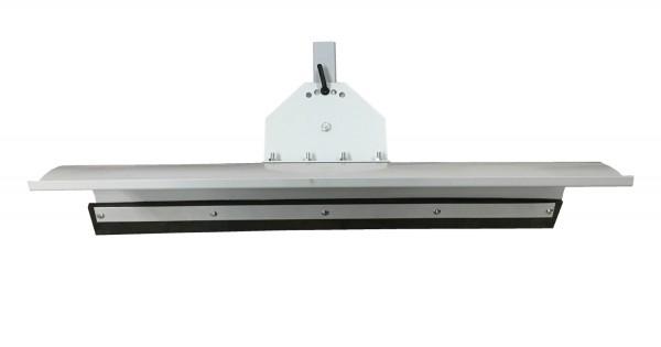 Universal Schneeschild Grau 125 x 40cm für Rasentraktor 5-Fach verstellbar